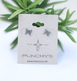 Punchy's Dainty Butterfly Stud