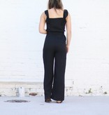 Punchy's Ruffle Strap Jumpsuit