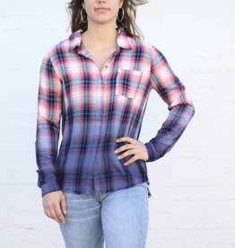 Punchy's Lauren Dip Dye Button Down Shirt