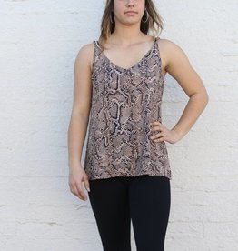 Punchy's Snake Print Cami Blouse