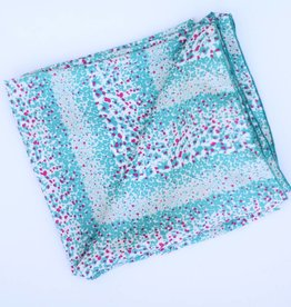 Punchy's Turquoise Dots Wild Rag