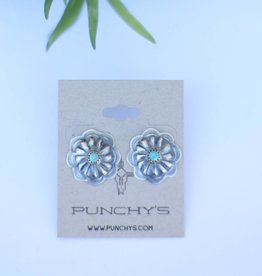 Punchy's Small Turquoise Burst