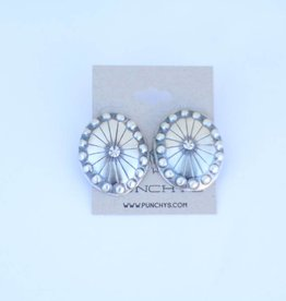 Punchy's Large Oval Concho Stud