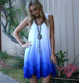 Punchy's Distressed Ombre Dress