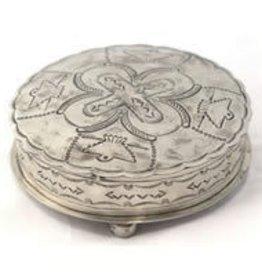 Punchy's Stamped Round Box