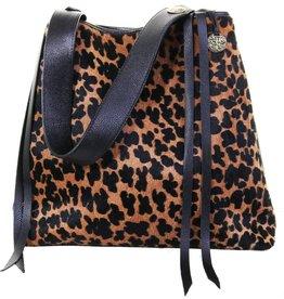 Punchy's Big Jaguar Tote Bag with Black Strap