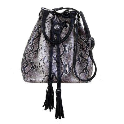 Punchy's Cobra Messenger Bag w/Drawstring