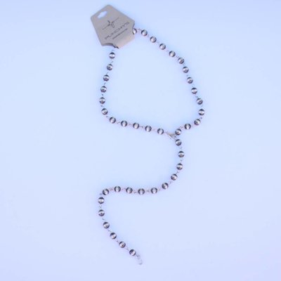 Punchy's 30in 8mm Navajo Pearls Lariat