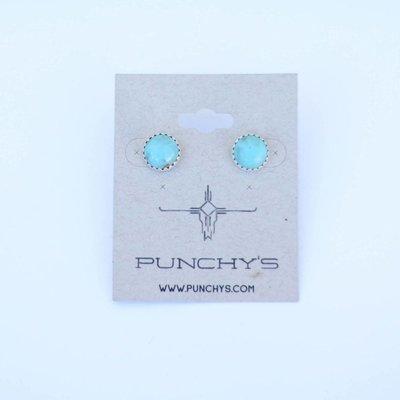 Punchy's Medium Turquoise Stud