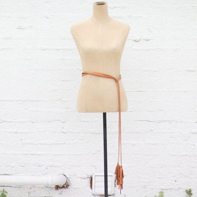Punchy's Ember Belt with Tassel