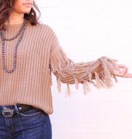 Punchy's The Mable Fringe Sweater