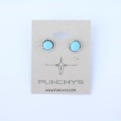 Punchy's Sleeping Beauty Stud Earring