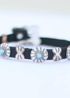 Punchy's Turquoise Concho Bracelet