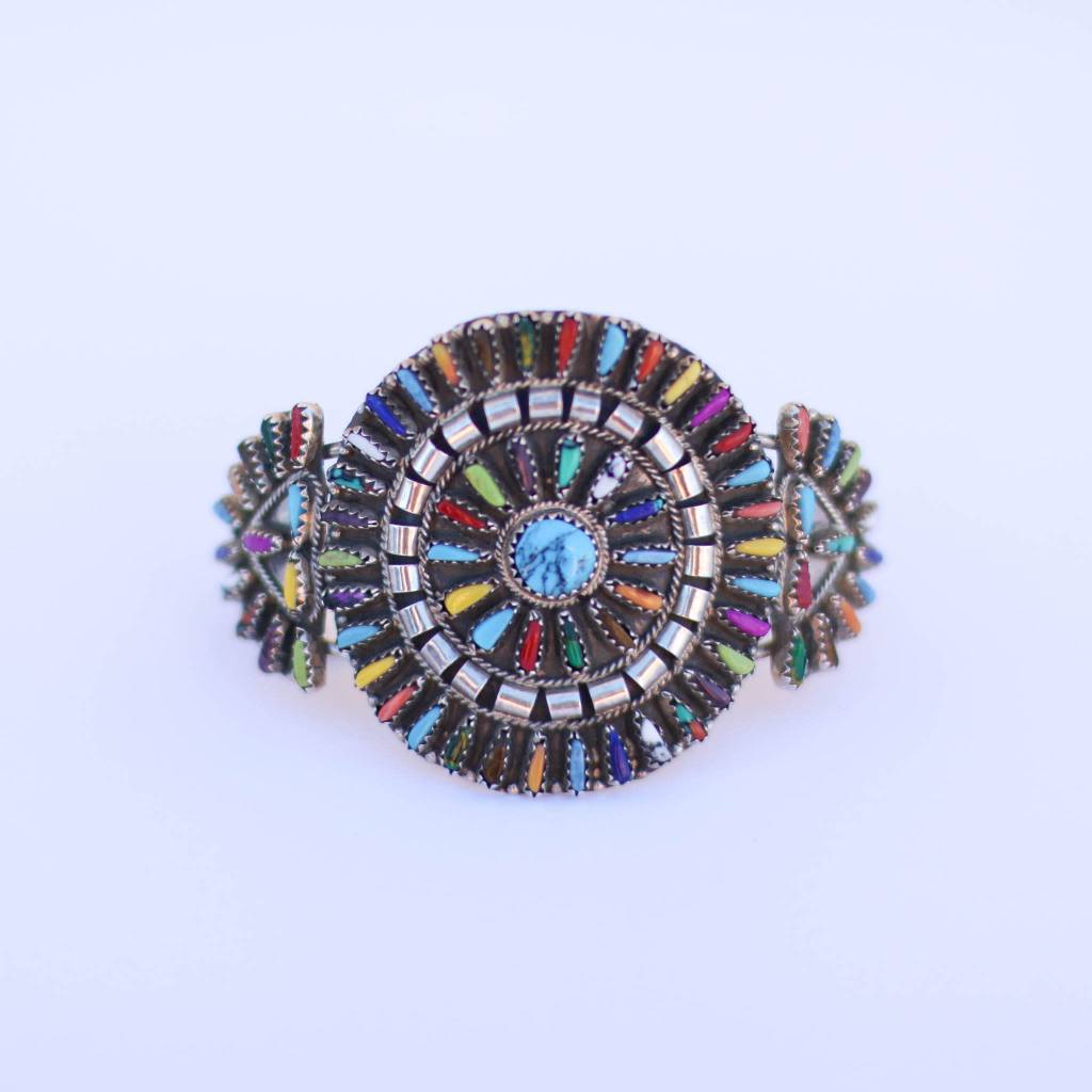 Punchy's Multi Color Cluster Cuff