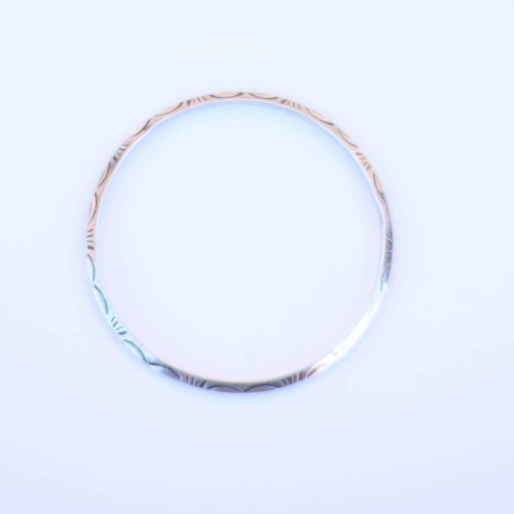 Punchy's Petite Tribal Stamped Bracelet