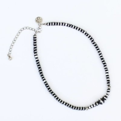 """Punchy's 16"""" Faux Oxi Finished Pearl Necklace"""