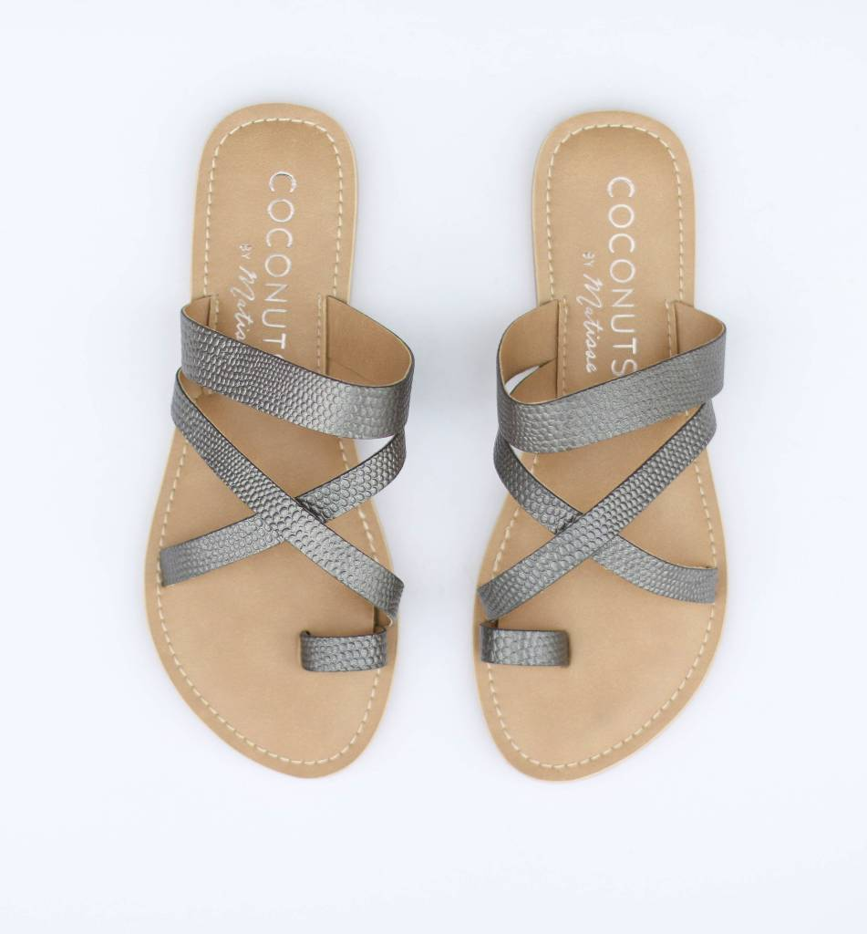 Punchy's The Pewter CeCe Sandal