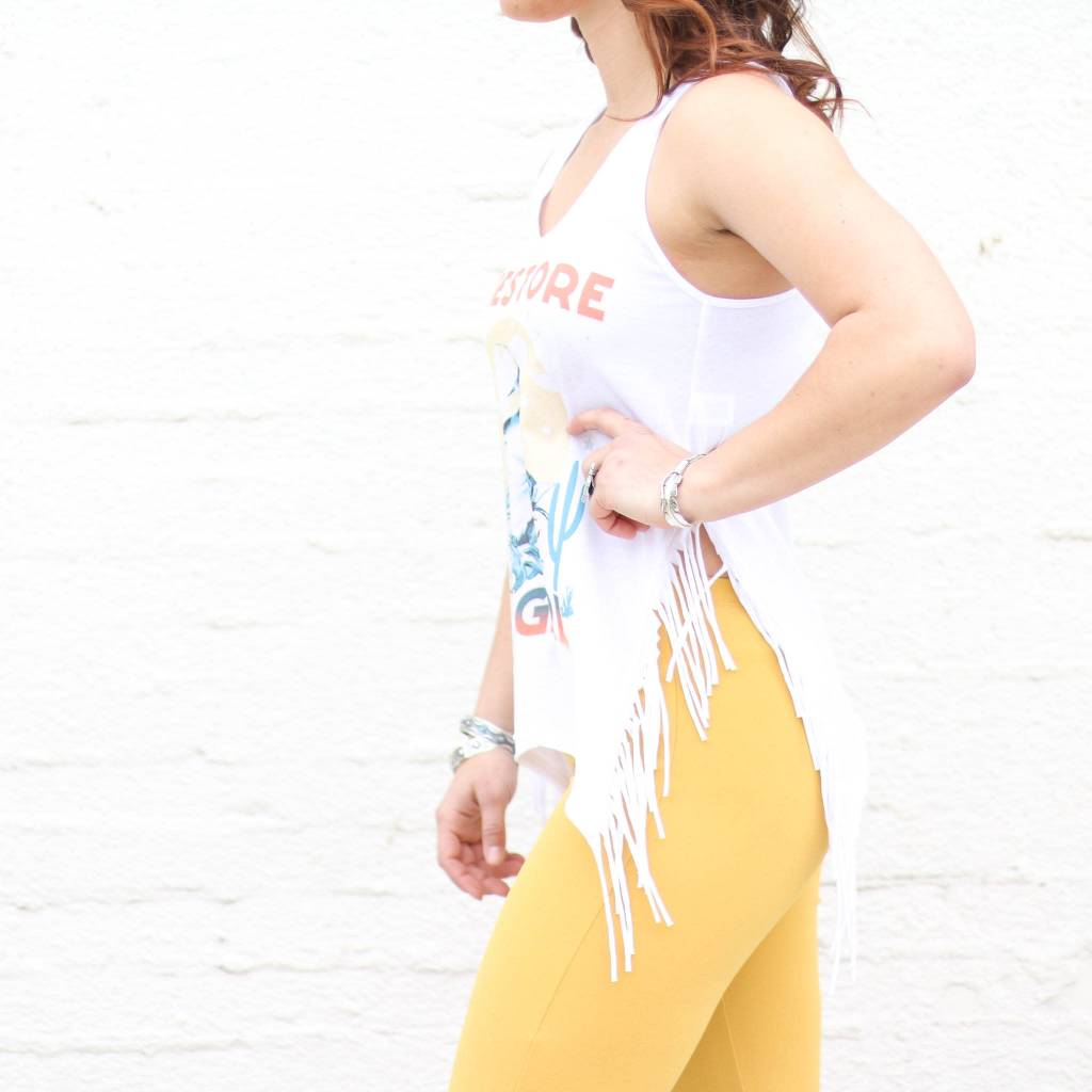 Punchy's Dimestore Cowgirl Fringe Tank