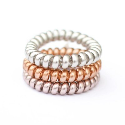 Punchy's Luxe Matte Coil Hair Tie
