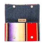 Punchy's Vintage Serape Clutch Wallet