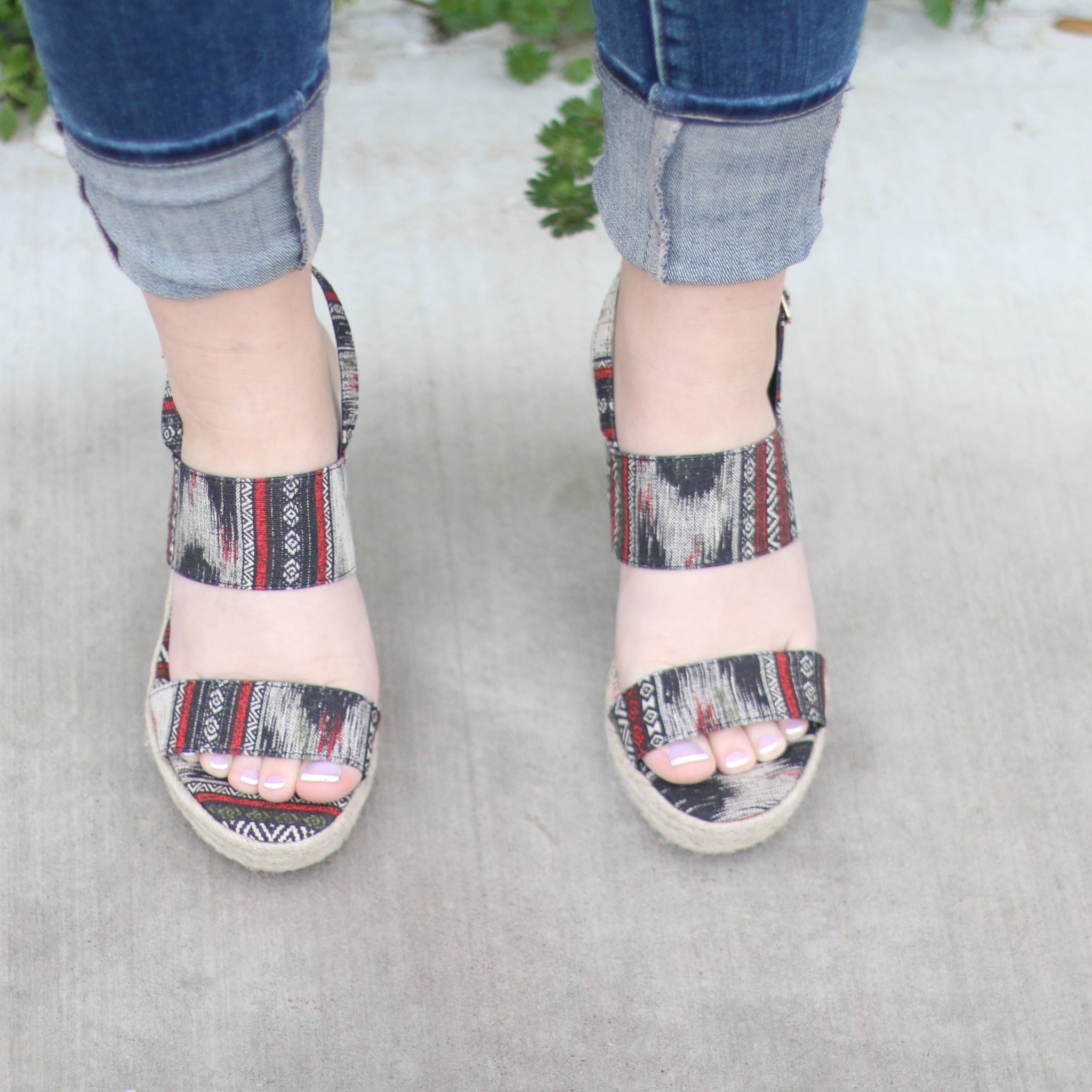 Punchy's The Holloman Espadrille Wedge