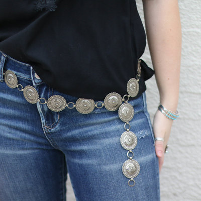 Punchy's The Corrales Concho Belt