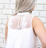 Punchy's Ivory Lace Blouse