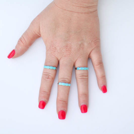Punchy's The Santo Stacker Ring