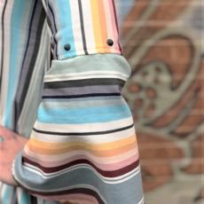 Punchy's Serape Bell Sleeve Blouse