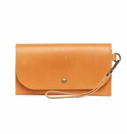 Punchy's Mare Phone Wallet in Cognac