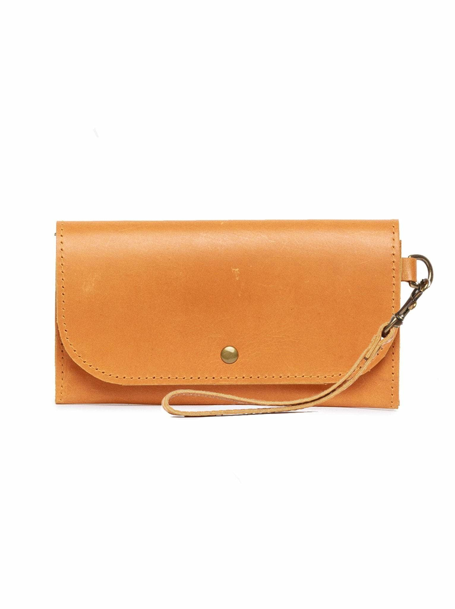 Punchy's Mare Phone Wallet in Cognac