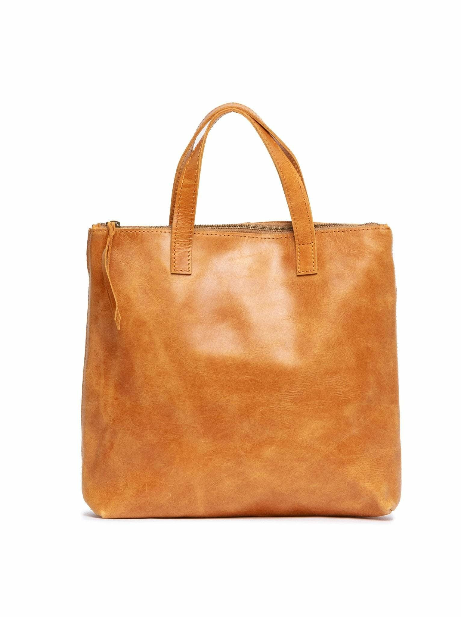 Punchy's Abera Convertible Backpack in Cognac