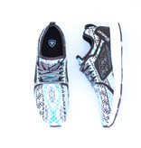 Punchy's Fuse Turquoise Aztec Athletic Shoe