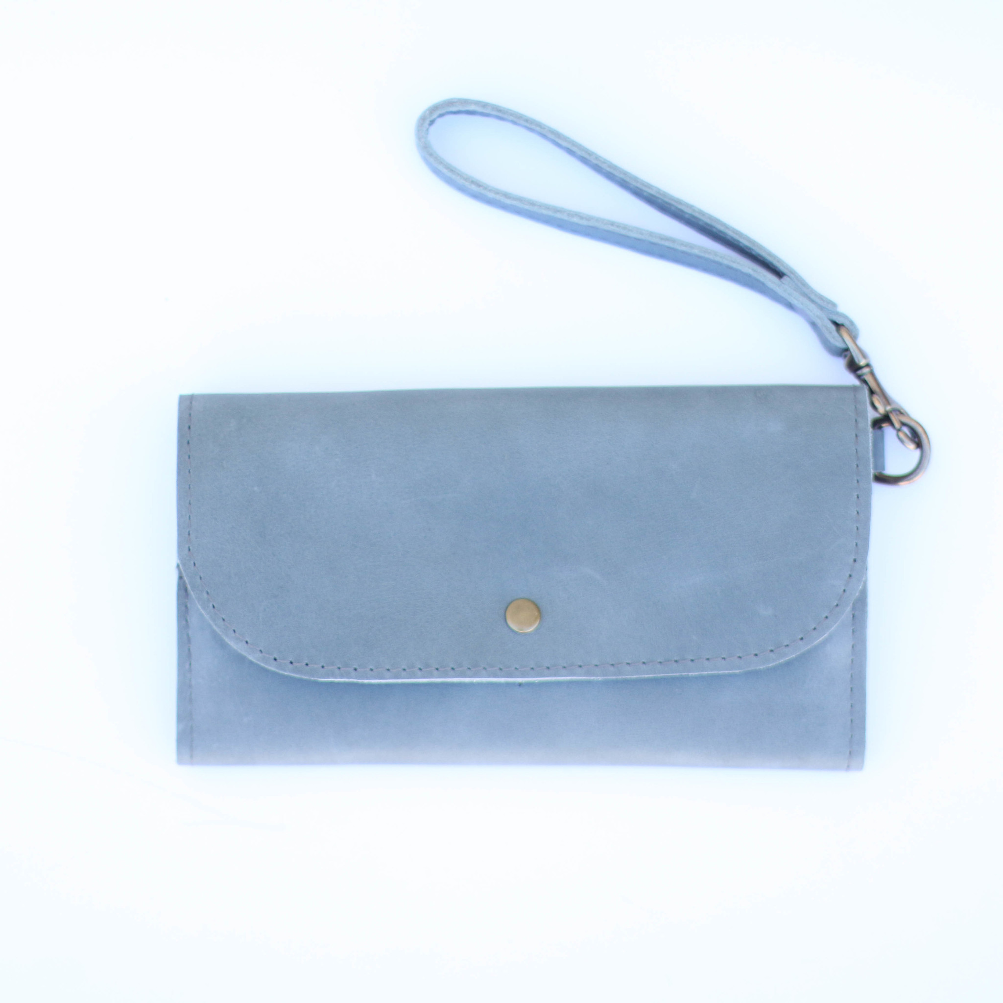 Punchy's Mare Phone Wallet in Denim Blue