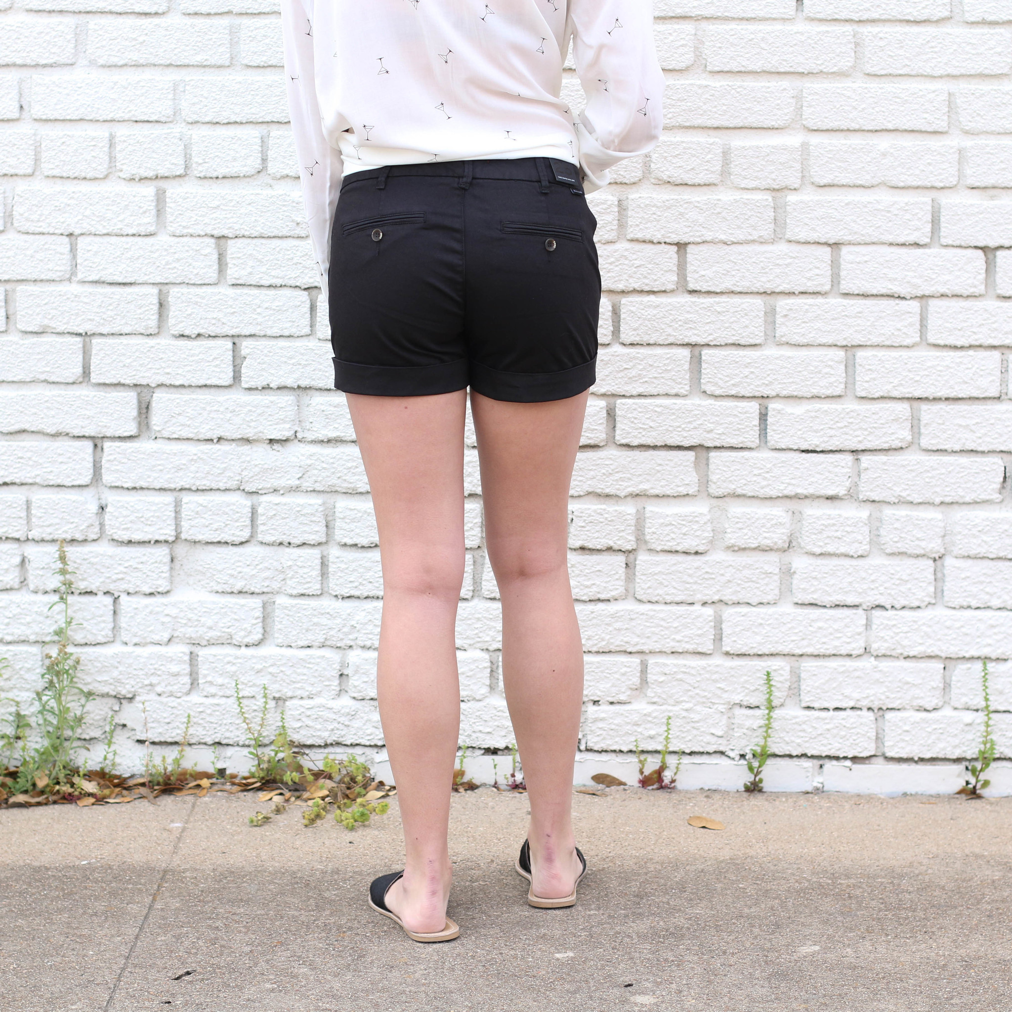 Punchy's Black Comfort Denim Short