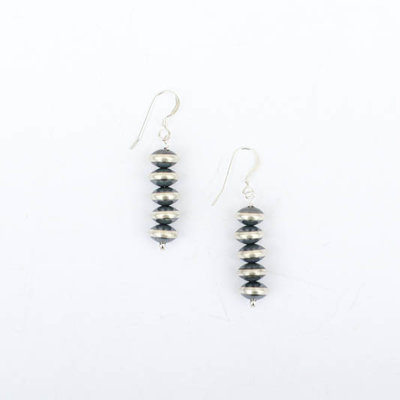 Punchy's 1 1/2in Linear Saucer Earring