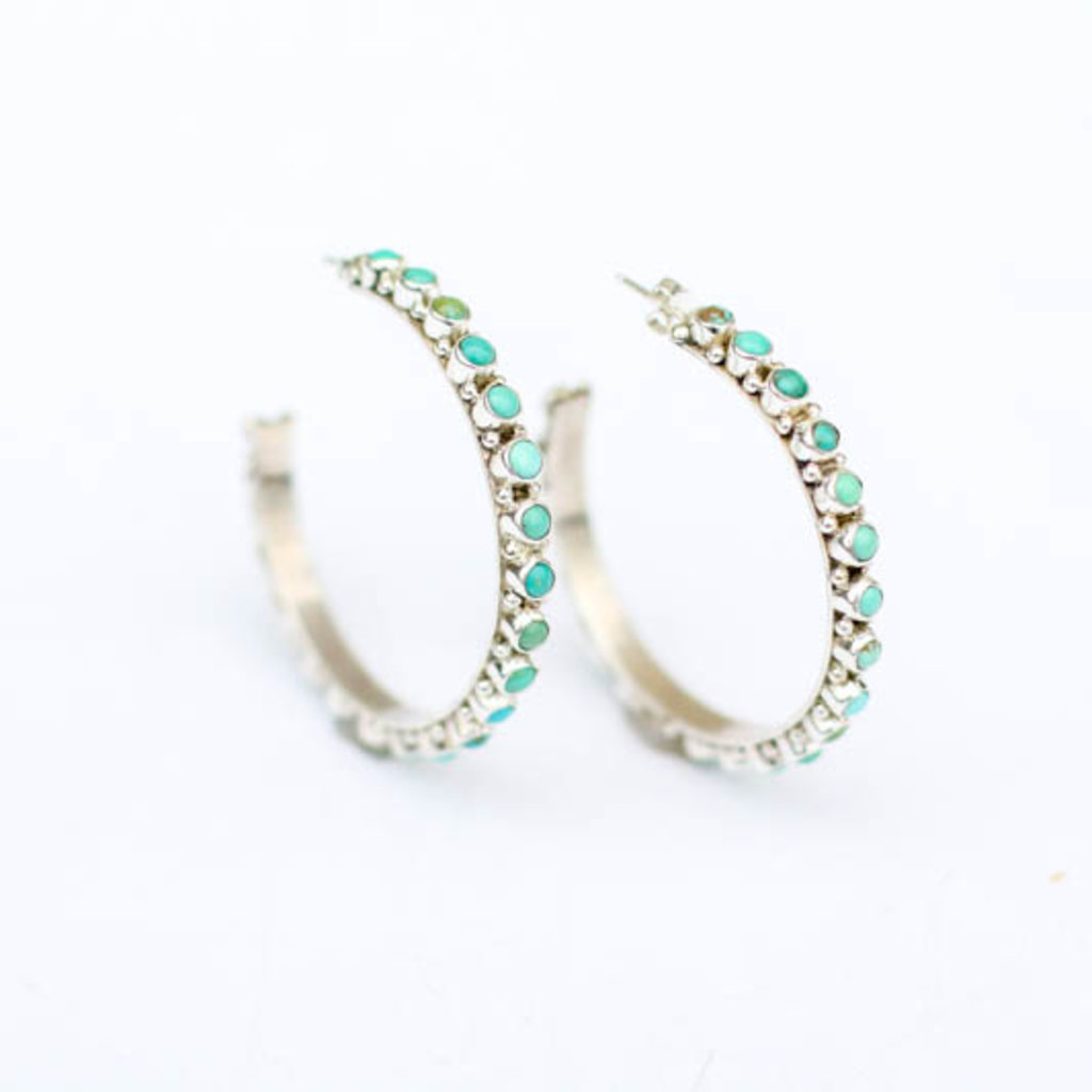 Punchy's Petite Point Hoops