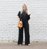 Punchy's Makin' My Way Downtown Jumpsuit BLACK
