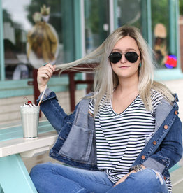 Punchy's Dear John Alissa Denim Jacket