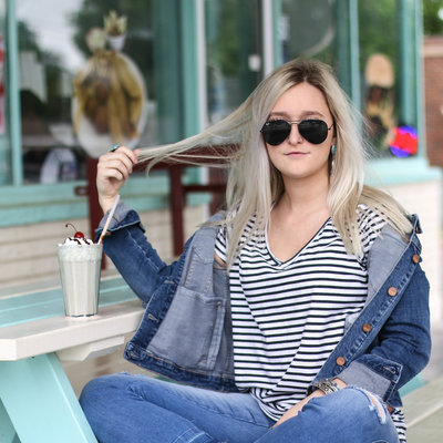 Punchy's Dear John Alissa Denim Jacket X-LARGE