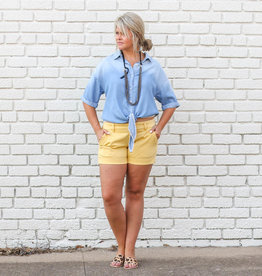 Punchy's Mellow Yellow Comfort Shorts