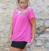 Punchy's Pink Fiesta Top