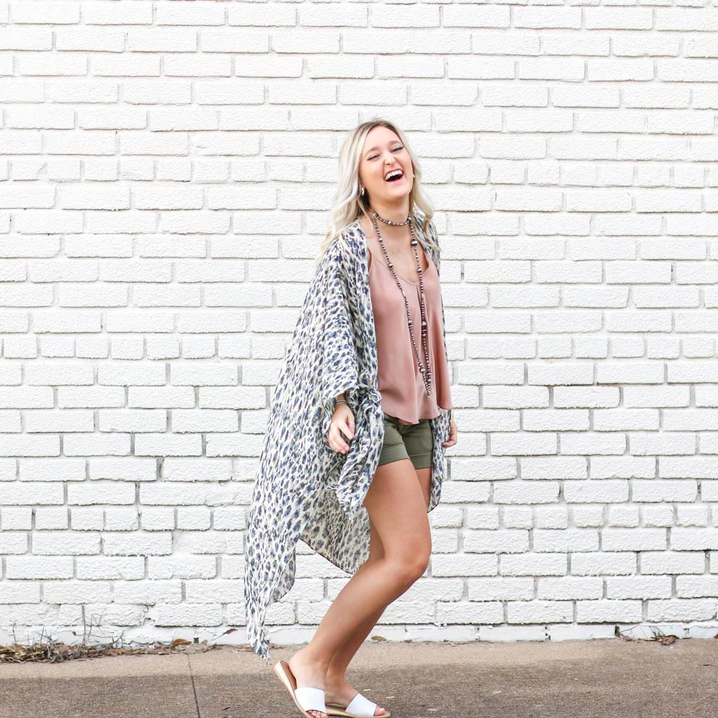 Punchy's Safari Leopard Kimono