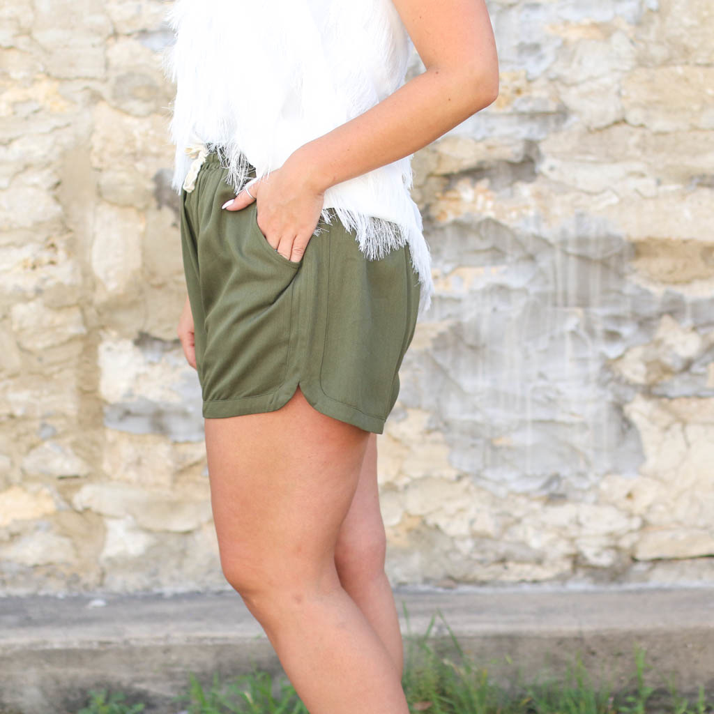 Punchy's The Kya Short in Olive
