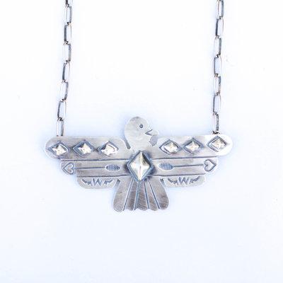 "Punchy's 20"" Thunderbird Bar Necklace"