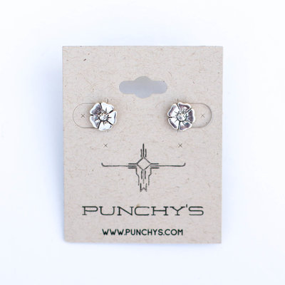 Punchy's Flower Studs