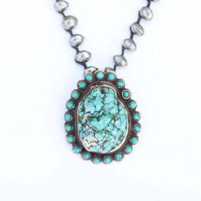 Punchy's Tibetan Turquoise Necklace