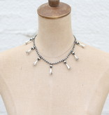 """Punchy's 16"""" Multi Blossom Necklace"""