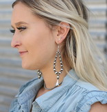 Punchy's Teardrop Blossom Navajo Pearl Earring