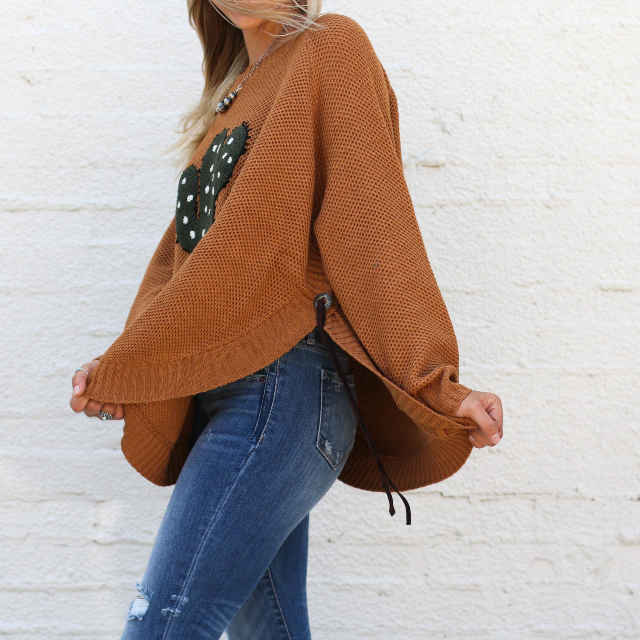 Punchy's Cactus Sweater